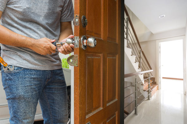 Intervention en urgence serrurier grenoble pour réparer une porte